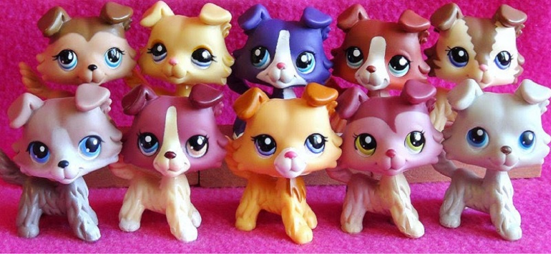 littlest pet shop collie
